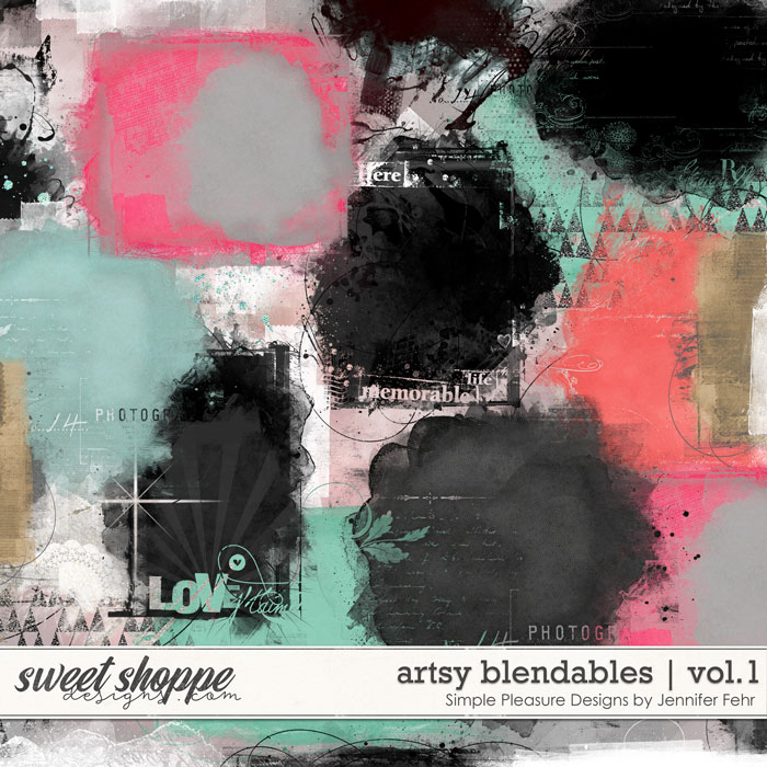 artsy blendables vol.1: Simple Pleasure Designs by Jennifer Fehr