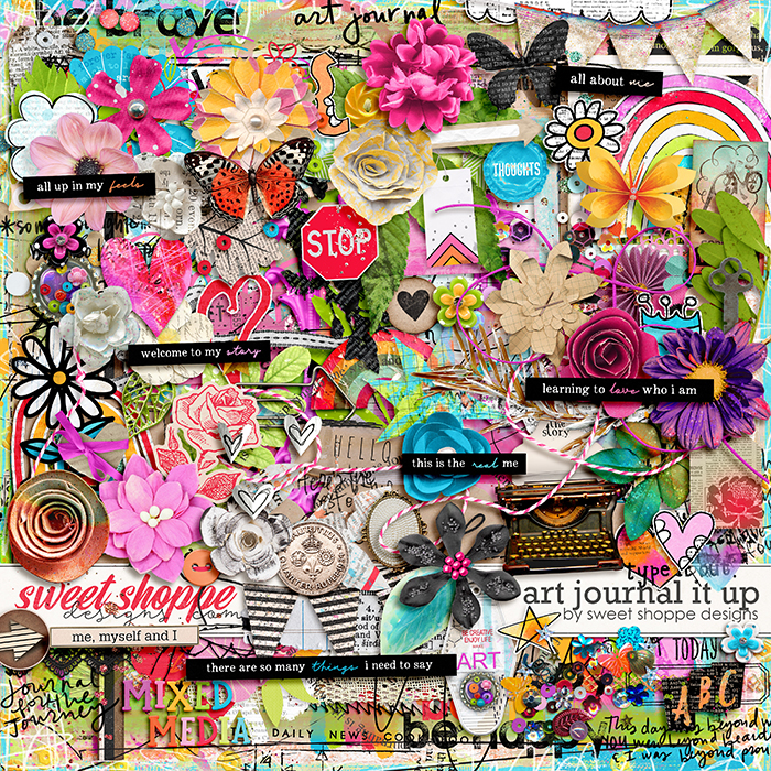 *OFFER EXPIRED* Art Journal It Up! by Sweet Shoppe Designs