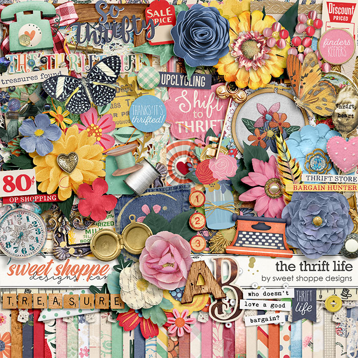 *OFFER EXPIRED* The Thrift Life by Sweet Shoppe Designs