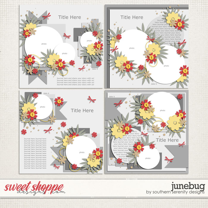 Junebug Layered Templates by Southern Serenity Designs