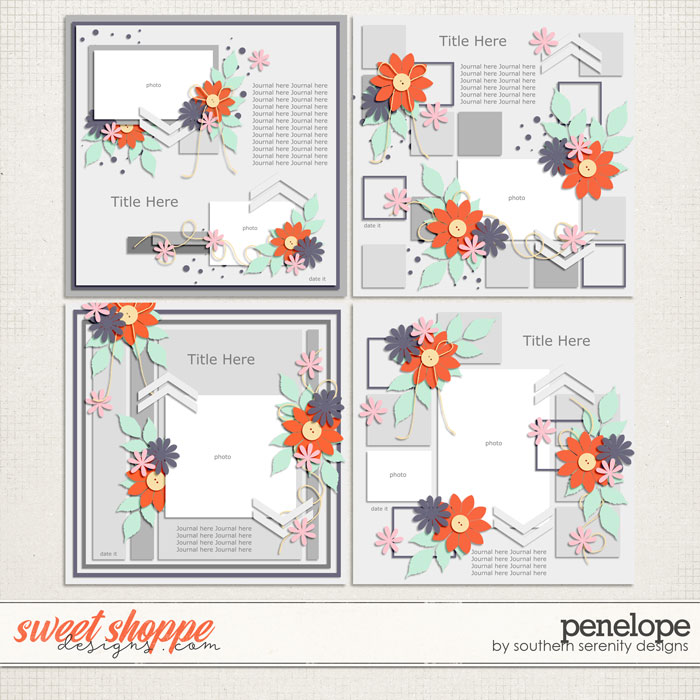 Penelope Layered Templates by Southern Serenity Designs