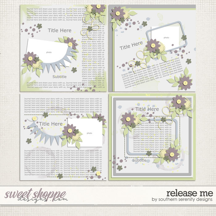 Release Me Layered Templates by Southern Serenity Designs
