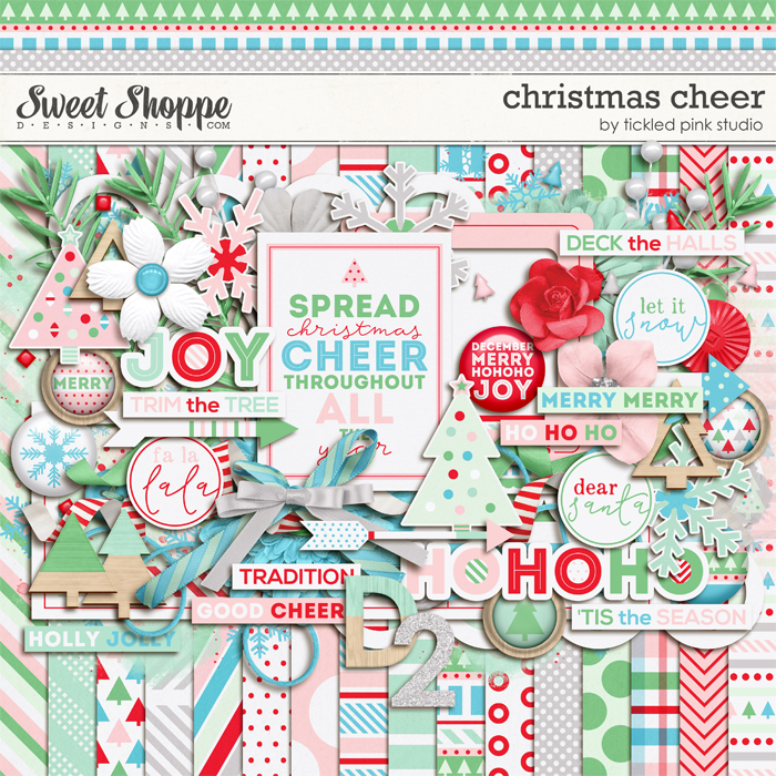 Christmas Cheer by Tickled Pink Studio