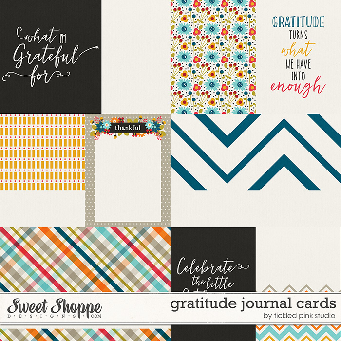 Gratitude Journal Cards by Tickled Pink Studio
