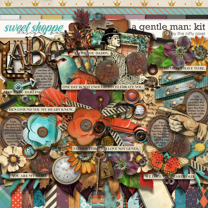 A GENTLE MAN | KIT by The Nifty Pixel