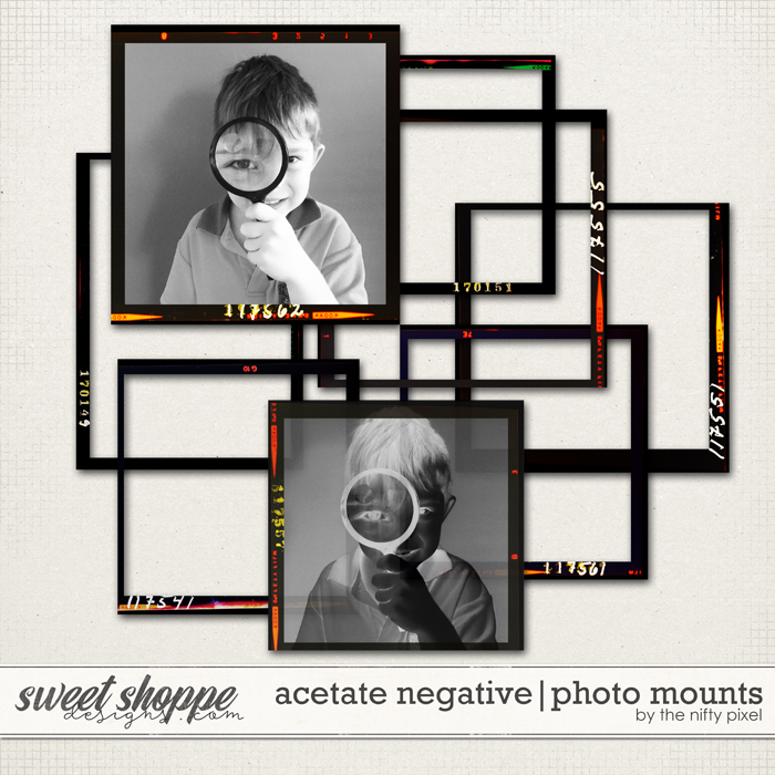 ACETATE NEGATIVE | PHOTO MOUNTS by the Nifty Pixel