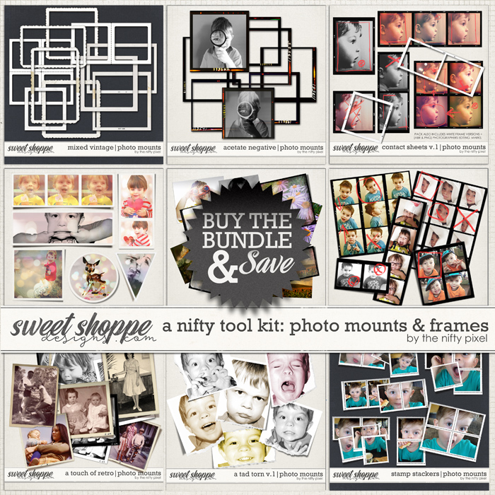 A NIFTY TOOL KIT | PHOTO MOUNTS & FRAMES by The Nifty Pixel