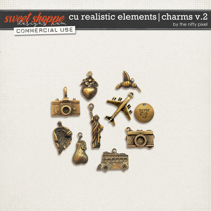 CU REALISTIC ELEMENTS | CHARMS V.2 by The Nifty Pixel