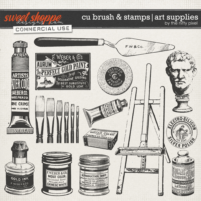 CU BRUSH & STAMPS | ART SUPPLIES
