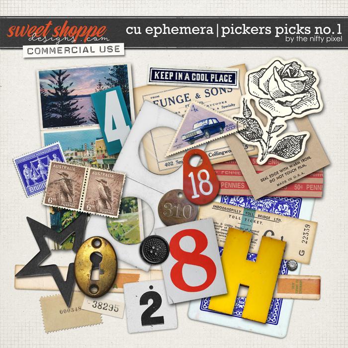 CU EPHEMERA | PICKERS PICKS No.1 by The Nifty Pixel