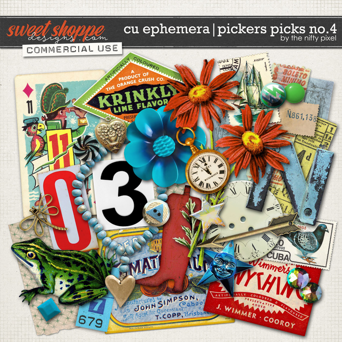 CU EPHEMERA | PICKERS PICKS No.4 by The Nifty Pixel