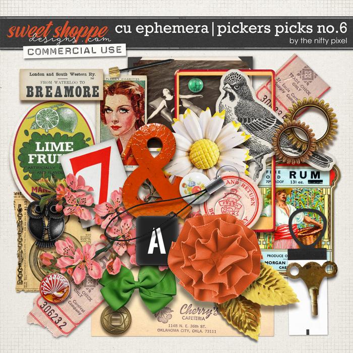 CU EPHEMERA   PICKERS PICKS No.6 by The Nifty Pixel