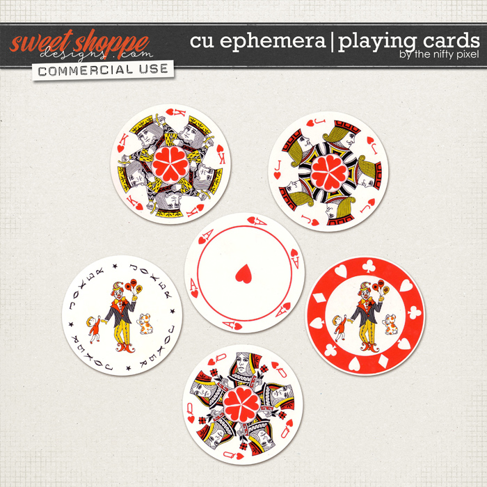 CU EPHEMERA | PLAYING CARDS  by The Nifty Pixel