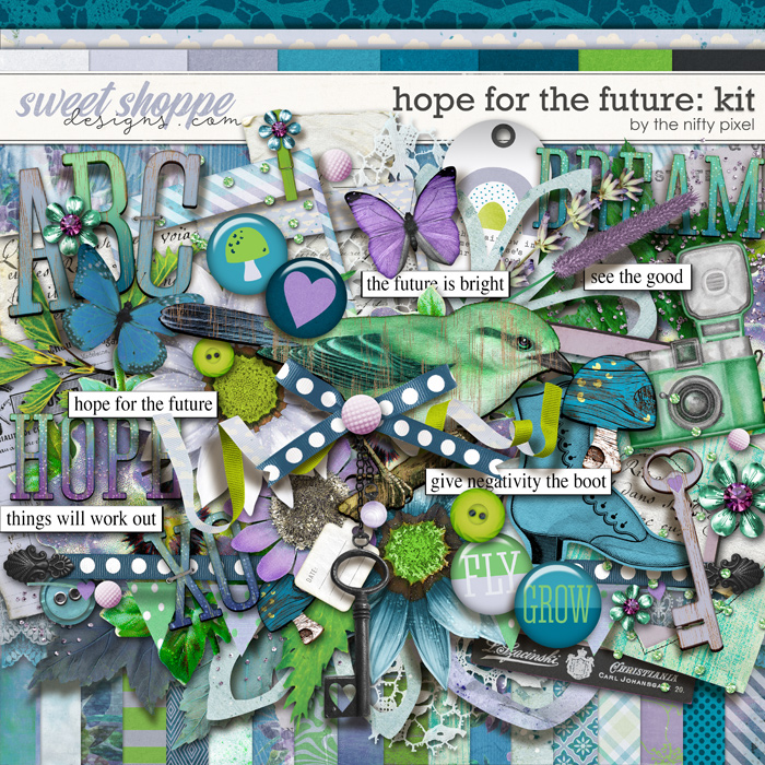 HOPE FOR THE FUTURE KIT   by The Nifty Pixel