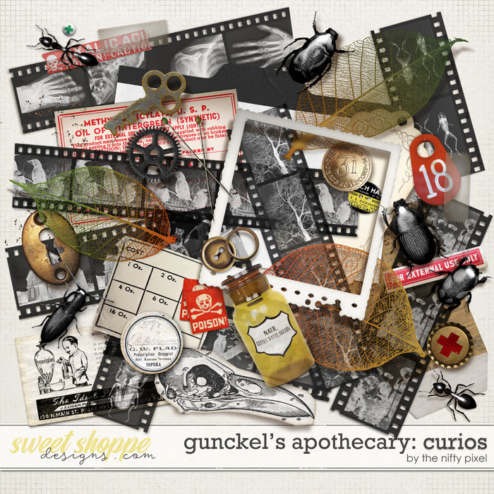 GUNCKEL'S APOTHECARY | CURIOS by The Nifty Pixel