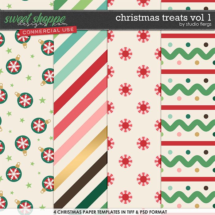 Christmas Treats Vol 1 by Studio Flergs