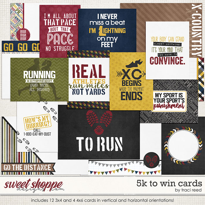 5k To Win: Cards by Traci Reed