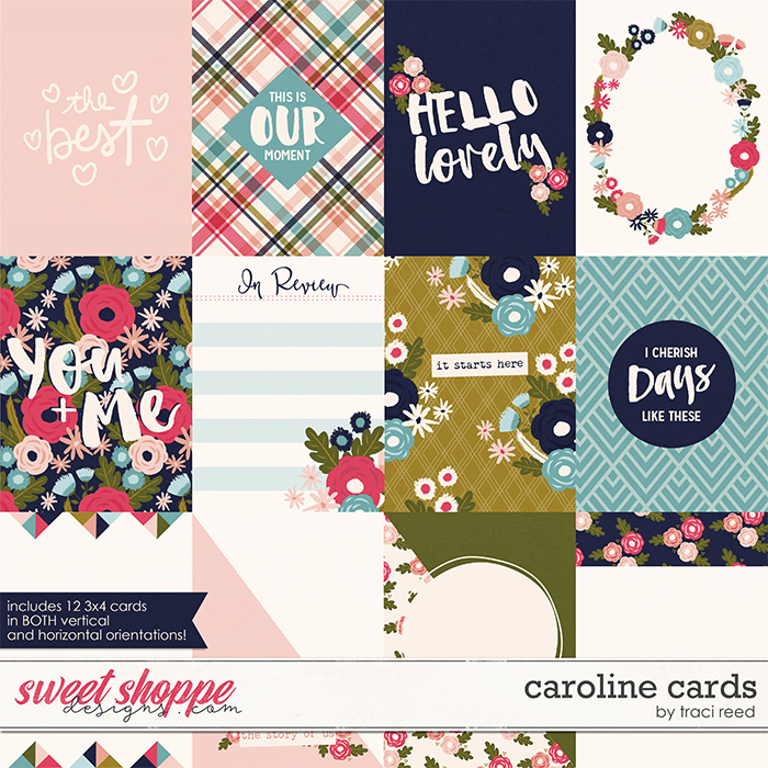 Caroline Cards by Traci Reed