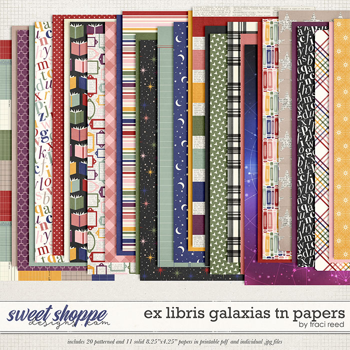 Ex Libris Galaxias TN Papers by Traci Reed