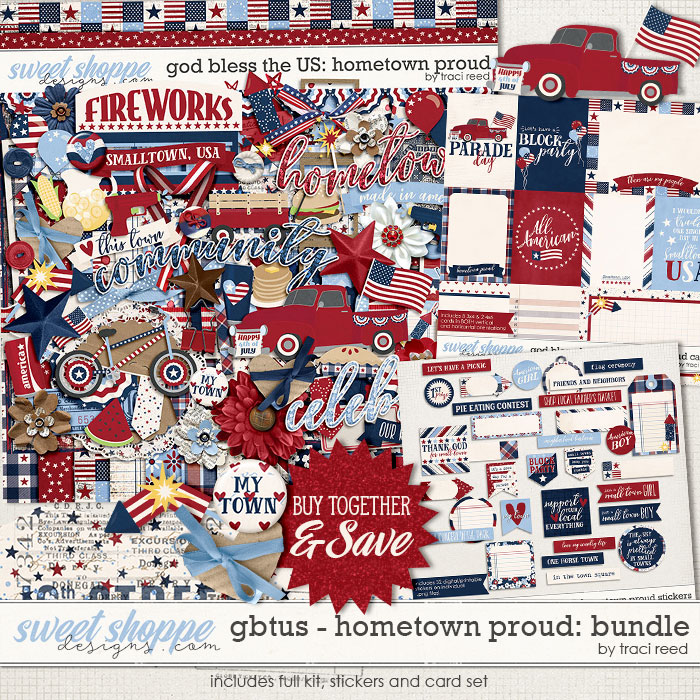 God Bless The US: Hometown Proud Collection by Traci Reed