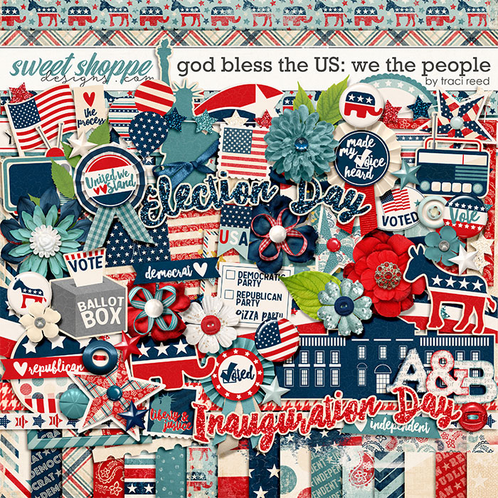 God Bless The US: We The People by Traci Reed