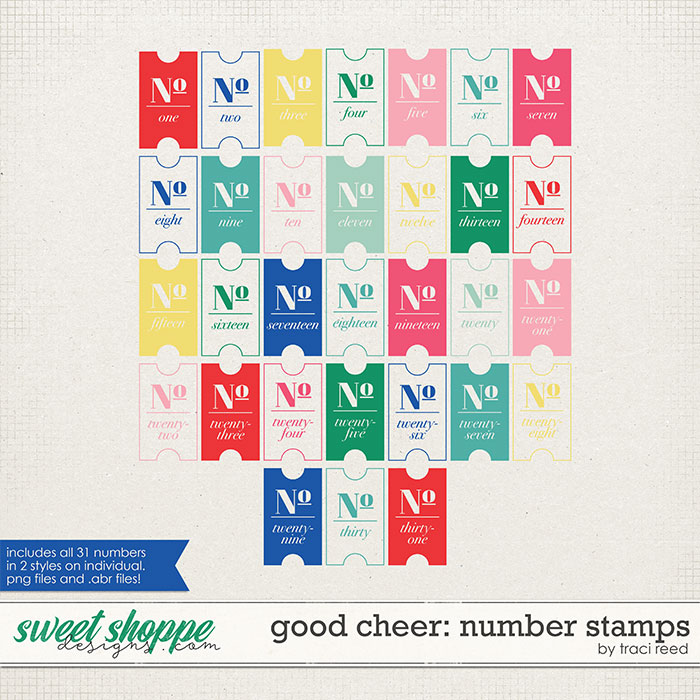 Good Cheer Numbers by Traci Reed