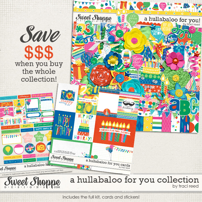 A Hullabaloo For You Collection by Traci Reed