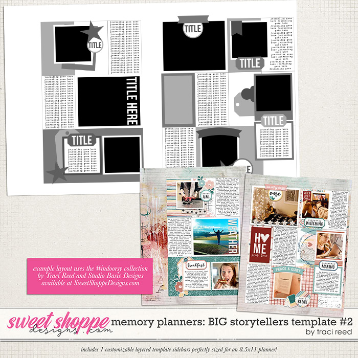 Memory Planners - Big - Storytellers #2 by Traci Reed