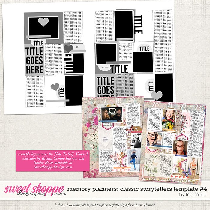 Memory Planners - Classic - Storytellers #4 by Traci Reed