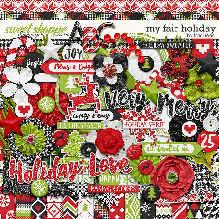 My Fair Holiday by Traci Reed
