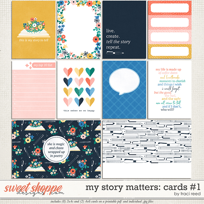My Story Matters Cards #1 by Traci Reed