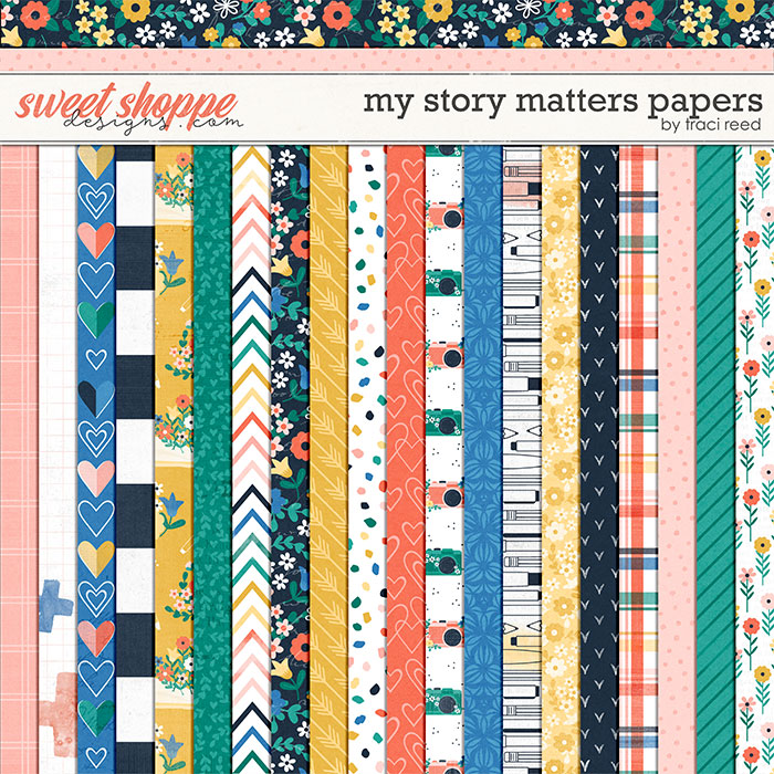 My Story Matters Papers by Traci Reed