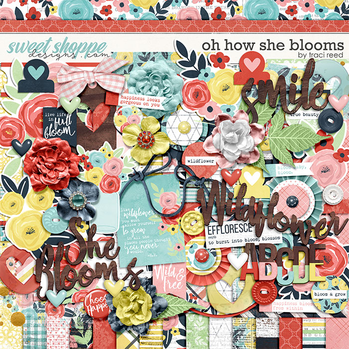 Oh How She Blooms by Traci Reed