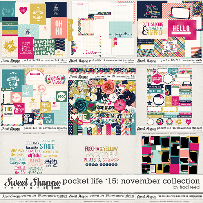 Pocket Life '15: November Collection by Traci Reed