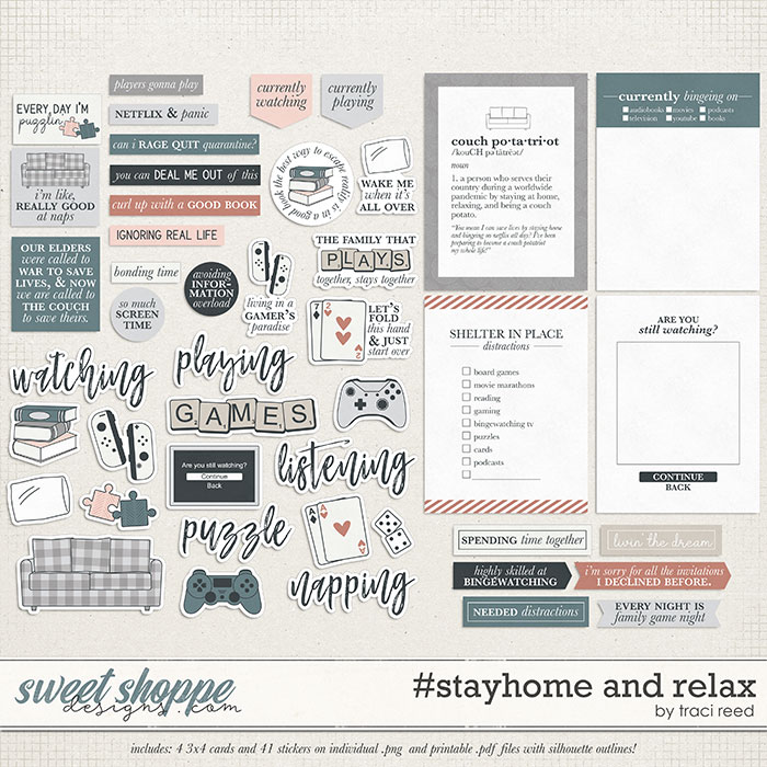 #stayhome and Relax by Traci Reed