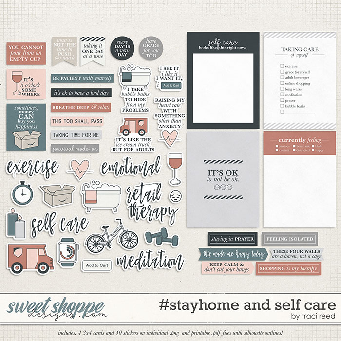 #stayhome and Self Care by Traci Reed