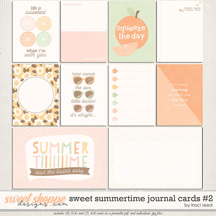 Sweet Summertime Cards #2 by Traci Reed