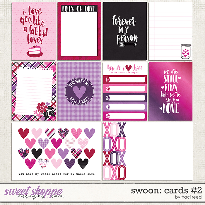 Swoon Journal Cards #2 by Traci Reed