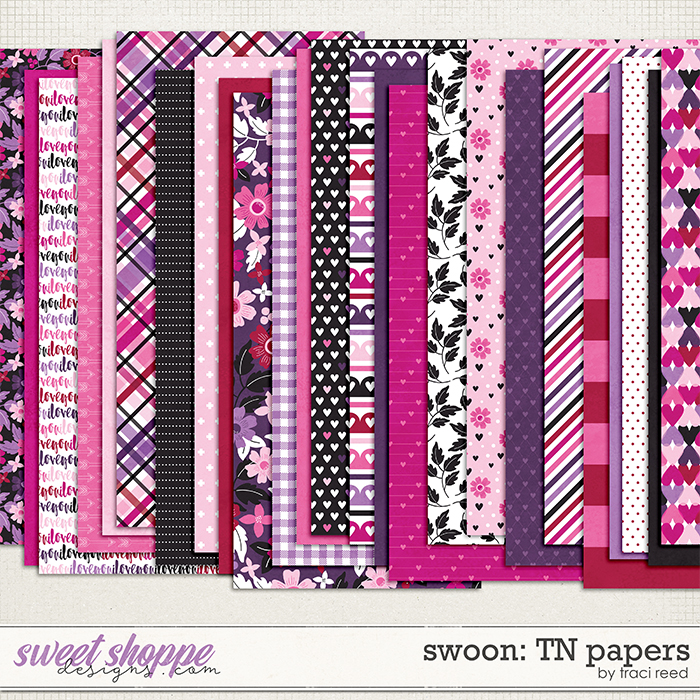 Swoon Traveler's Notebook Papers by Traci Reed