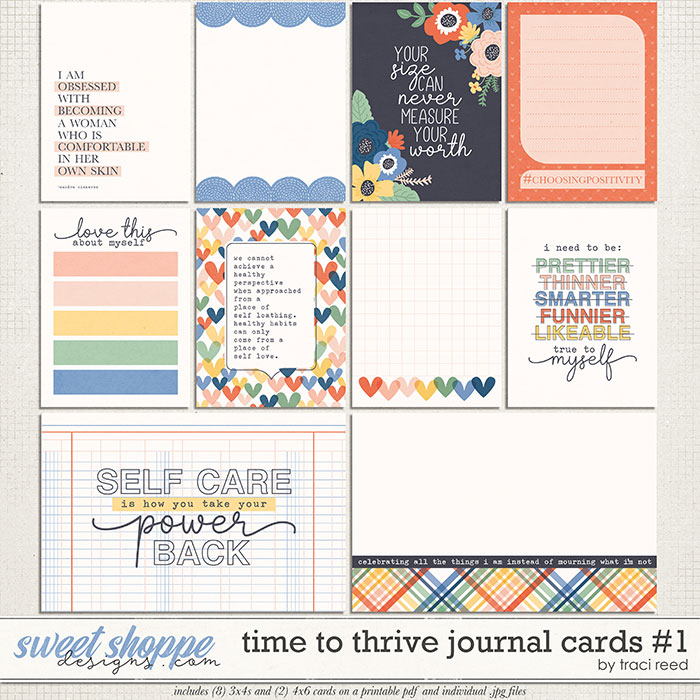 Time to Thrive Journal Cards #1 by Traci Reed