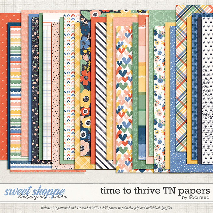 Time to Thrive TN Papers by Traci Reed