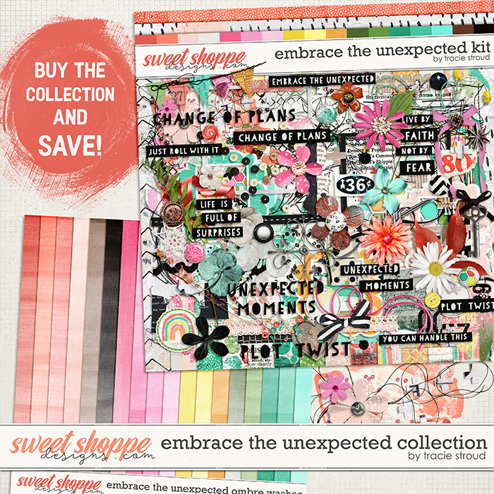 Embrace the Unexpected Collection by Tracie Stroud