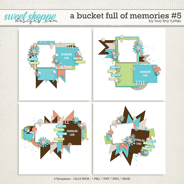 A Bucket Full Of Memories #5 by Two Tiny Turtles