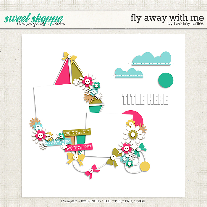Fly Away With Me by Two Tiny Turtles