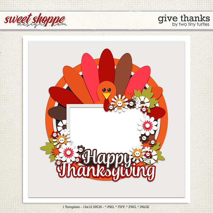 Give Thanks by Two Tiny Turtles