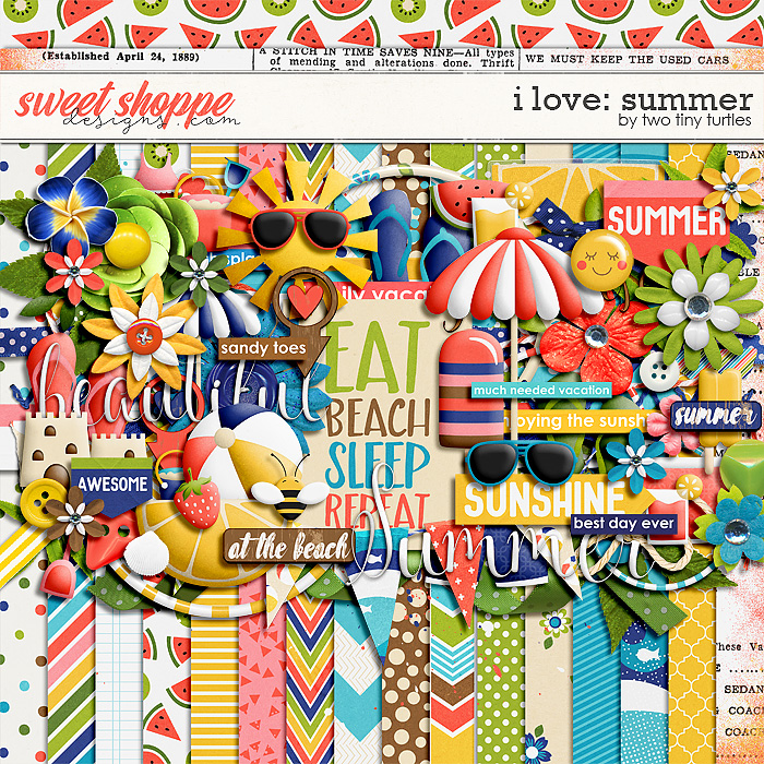 I Love: Summer Kit by Two Tiny Turtles