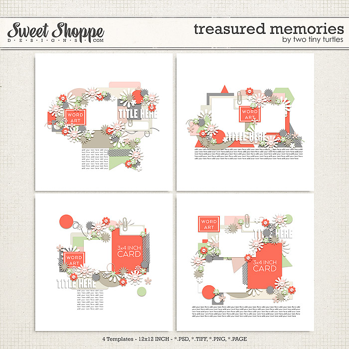 Treasured Memories by Two Tiny Turtles