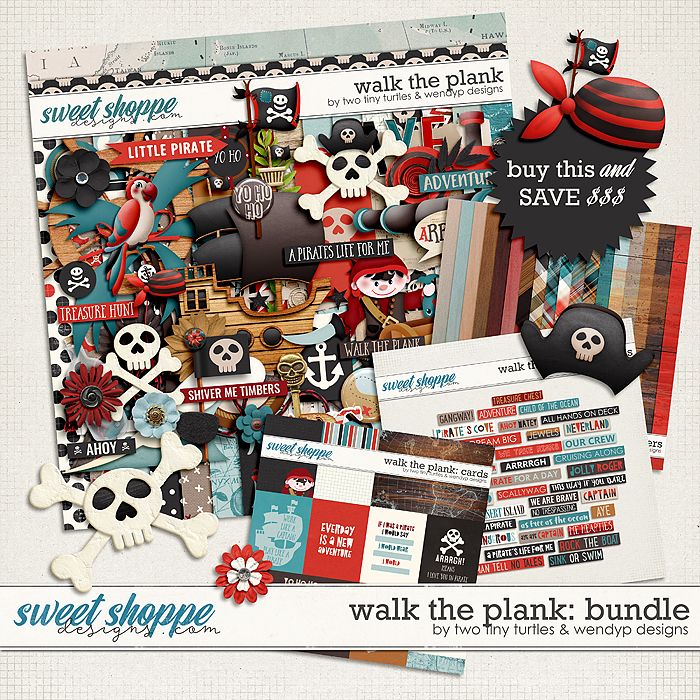 Walk The Plank: Bundle by Two Tiny Turtles & WendyP Designs
