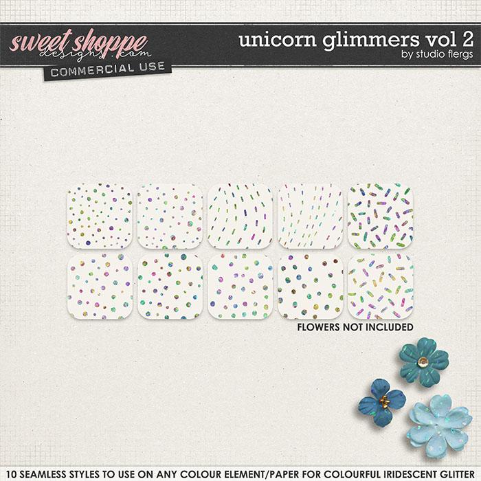 Unicorn Glimmers VOL 2 by Studio Flergs