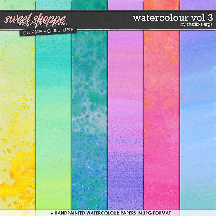 Watercolour VOL 3 by Studio Flergs